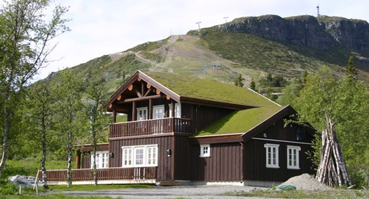 Hovedparten af Norsk Rejsebureaus gæster tager til Norge for at komme på skiferie, hovedparten bor i hytter. Arkivfoto fra Norsk Rejsebureau.