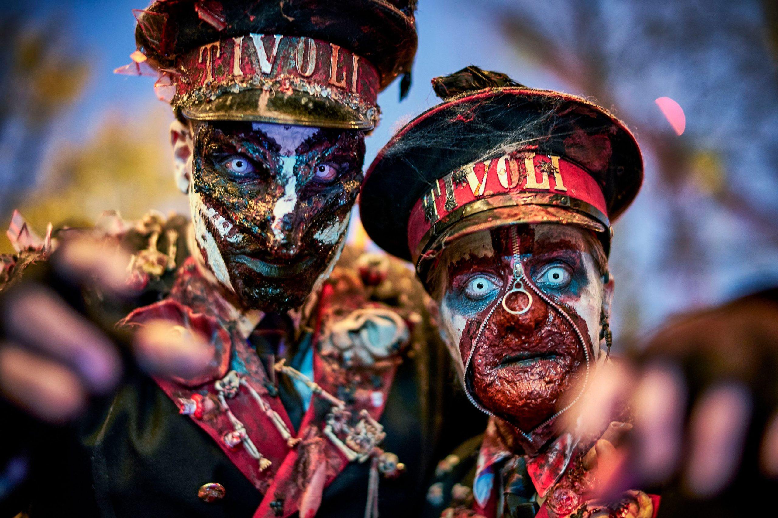 Tivoli har i år ingen coronarestriktioner til Halloween i Tivoli, der begynder 15. oktober. Pressefoto for Tivoli: Lasse Salling.