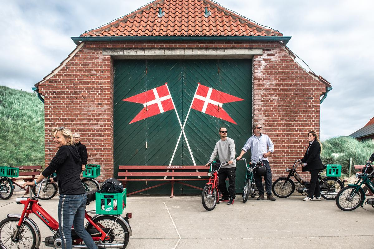 Destination Nordvestkysten dækker fem kommuner, der ser stadig flere turister. Her er det fra Lønstrup. Pressefoto: FlyingOctober for Destination Nordvestkysten.