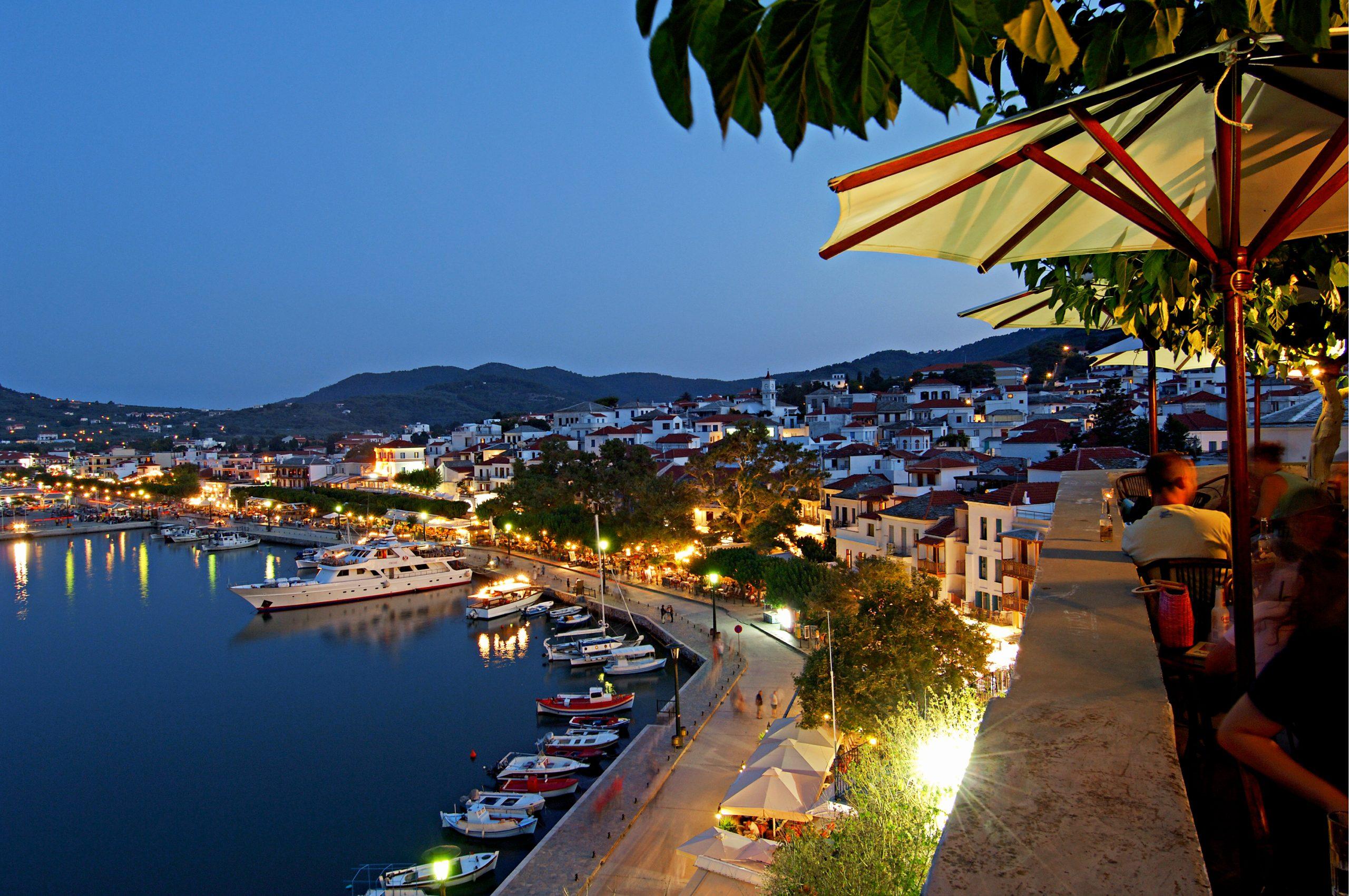 I Grækenland bliver regionen Det Nordægæiske Hav med blandt andet de ægæiske øer: Chios, Lesbos og Samos igen grønne. Arkivpressefoto fra Spies.