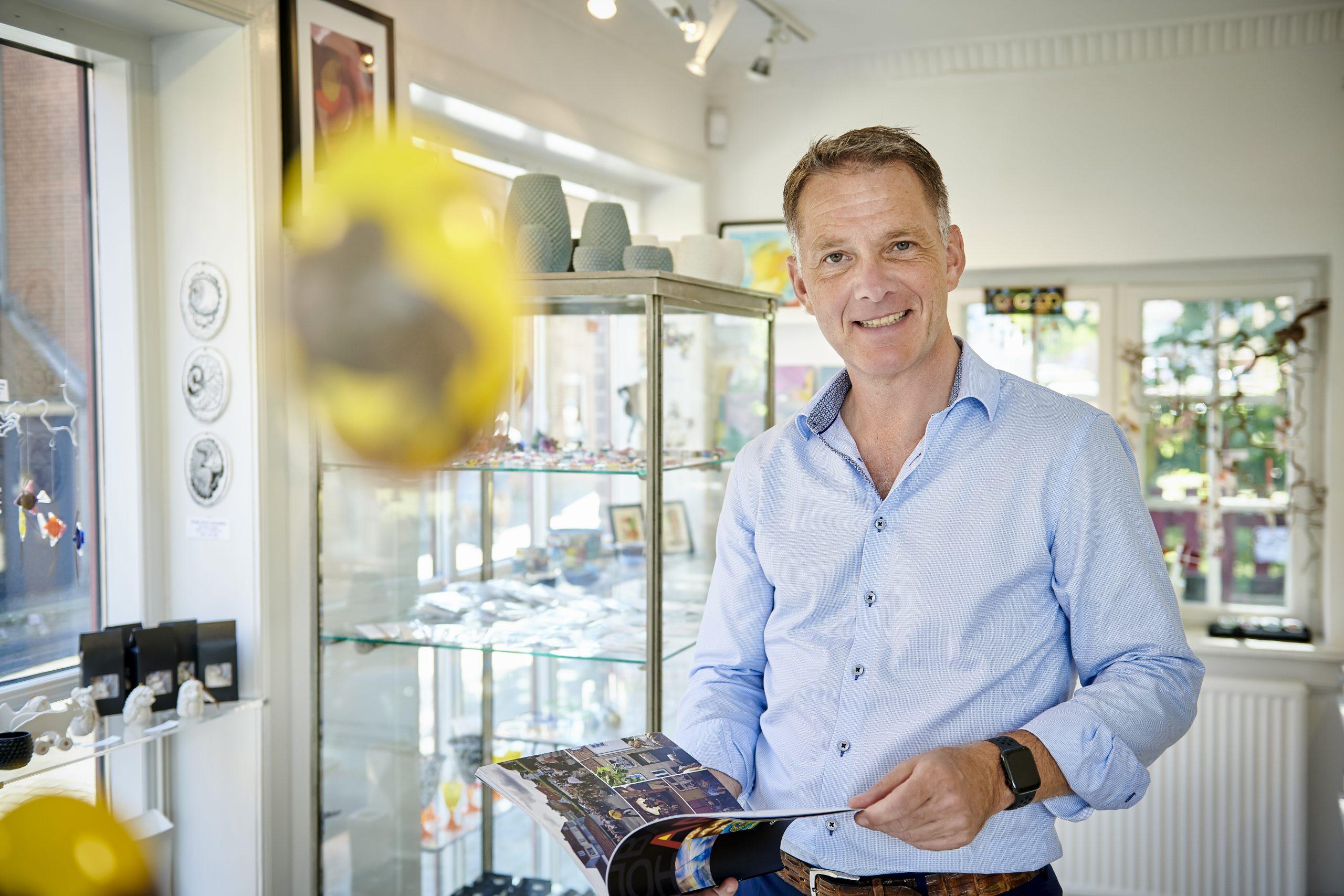 """""""Når man har sit eget, har man selv hånden på kogepladen,"""" siger Jens Müller, der stopper som direktør for Destination Sjælland for at stå i spidsen for et vandrehjem. Arkivpressefoto: Destination Sjælland."""