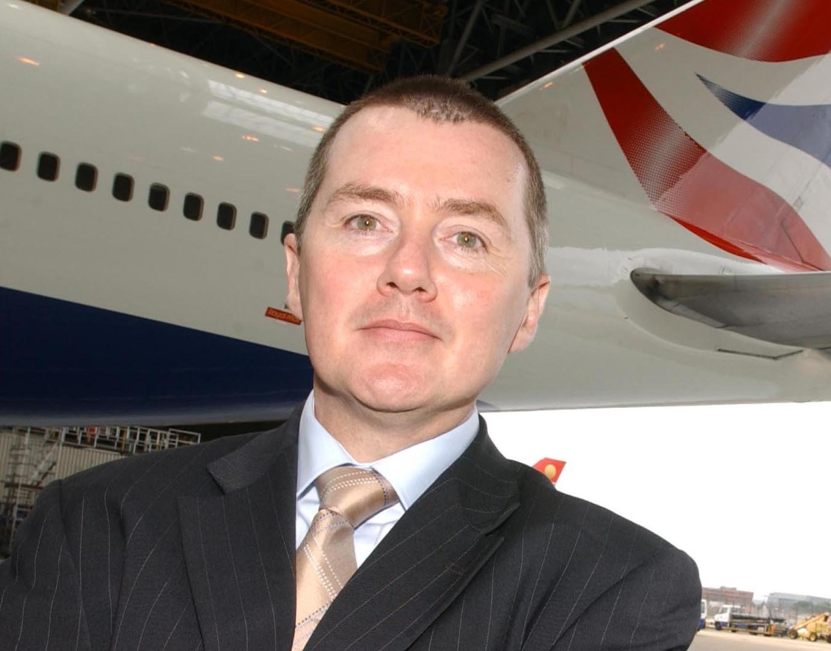 CEO Willie Walsh, IAG. Arkivfoto.